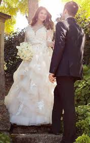 plus size wedding dresses plus size wedding dress with sleeves essense of australia