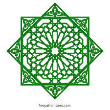 geometric islamic ornament vector patterns freepatternsarea