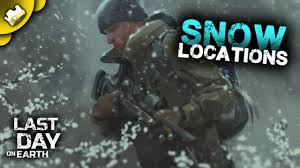 winter clothes snow locations last day on earth survival