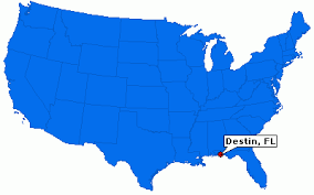 destin map destin florida city information epodunk