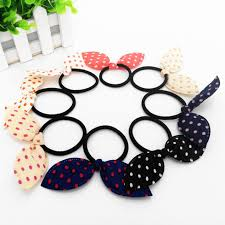 elastic hairband 10pcs baby girl hair bow rubber band elastic hair bands gum for