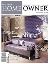 Home Decor Magazines In South Africa Sa Home Owner September 2015