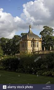 one of the garden pavilions at montacute house somerset the