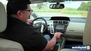 2012 toyota prius v test drive u0026 hybrid car review youtube