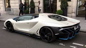 fastest lamborghini ever made lamborghini centenario gathers crowds in paris and london