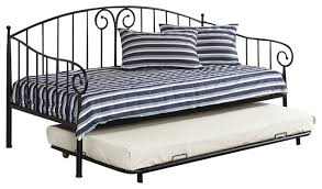 Wrought Iron Daybed Iron Trundle Daybed How Interesting Excellence About Metal With 13