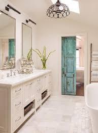 Turquoise Bathroom Vanity Distressed Turquoise Bathroom Door Design Ideas