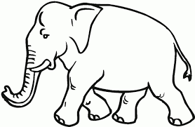 elephant birthday coloring pages elephant to color gallery photos