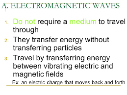 How Do Electromagnetic Waves Travel images Light waves a electromagnetic waves 1 do not require a medium jpg
