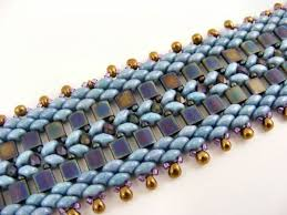 bracelet bead tutorials images Free super duo beading patterns tila and superduo bracelet by jpg