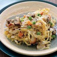 rachael s turkey tetrazzini left turkey frozen peas