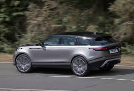 range rover dark green range rover velar full review parkers