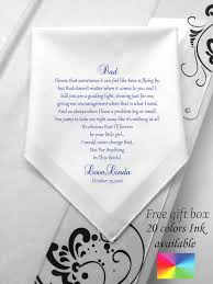 free wedding gifts gifts wedding handkerchief for printed navy blue