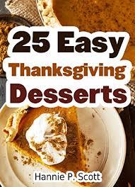 free ebook 25 easy thanksgiving dessert recipes