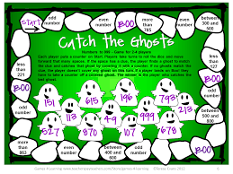 fun games 4 learning halloween math freebies