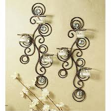 Decorative Wall Sconces Shelves Luxury Wall Candle Sconces Bronze