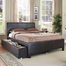Leather Bedroom Furniture Bedroom Bedroom Furniture Modern Benches And Black Tufted