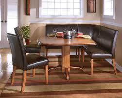 Ashley Urbandale TwoTone Pedestal Table DTable With - Ashley furniture dining table bench