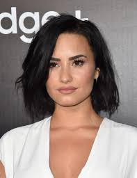 demi lovato b o b bobs haircuts and makeup