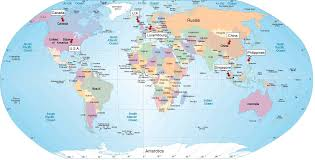 where is and tobago located on the world map world map highlighting australia for location lapiccolaitalia info