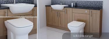 solid wood bathroom cabinet inspiring solid oak bathroom furniture with bathcabz bathroom fitted