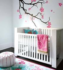 Diy Baby Decor Diy Baby Room Decor With White Wall Stained And Green Curtains For