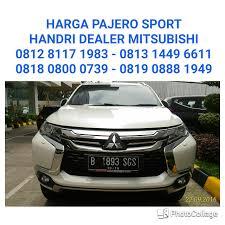 pajero sport mitsubishi pos pengumben harga pajero sport mitsubishi indonesia 081281171983 wa