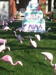 lawn signs for birthdays birthday lawn decorations