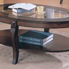 Oval Wood Coffee Table Furniture Chic Oval Glass Coffee Table For Living Room U2014 Jecoss Com