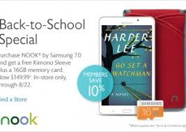 Barnes And Noble Coupon Code Nook Nook Offers The Nook Blog