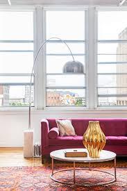 12 times a pink sofa made the room u2013 design sponge