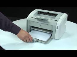hide printer fixing a paper jam hp laserjet 1020 printer youtube