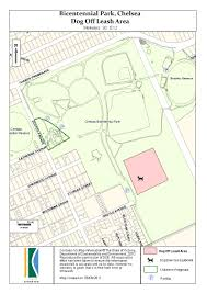 Chelsea Map Off Leash Areas For Dogs Kingston City Council