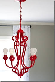 Chandelier Makeover Paint This 30 Lamp U0026 Light Fixture Makeovers It All Started