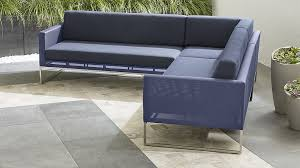 outdoor sectional sofas for patio relaxation crate and barrel