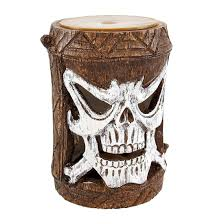 outdoor accent lighting friki tiki flashing skull outdoor accent light landscape path