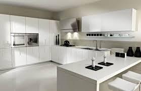cuisine moderne blanche et cuisine moderne blanche et