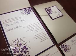 purple wedding invitations chagne and purple wedding invitation with orchid design