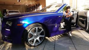 roll royce kenya tai lopez picks up a rolls royce dawn celebrities report