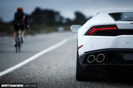 Lamborghini Huracan Back View - the lamborghini huracán experience speedhunters