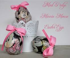 kids easter activity mod podge minnie mouse easter eggs u2013 mouse