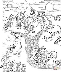 adam and eve coloring pages free coloring pages