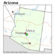 mesa az map best places to live in mesa arizona