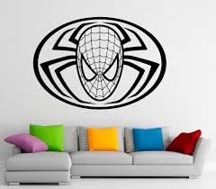 15 spiderman decals for walls online buy wholesale spiderman spiderman wall decal vinyl stickers comics superhero interior