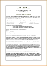Sample Medical Resume by Sample Resume Medical Administrative Assistant