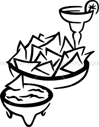 margarita clip art chips u0026 salsa production ready artwork for t shirt printing