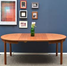 does round table deliver vintage danish midcentury extending teak round table