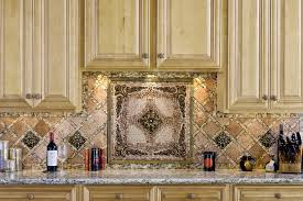 kitchen backsplash metal medallions outstanding metal medallions for kitchen backsplash images design