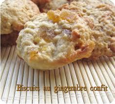 cuisiner avec du gingembre biscuits au gingembre confit cuisine et dépendances