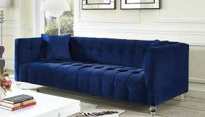 Blue Velvet Sectional Sofa Artistic Blue Sectional Sofa Russcarnahan On Velvet Ataa